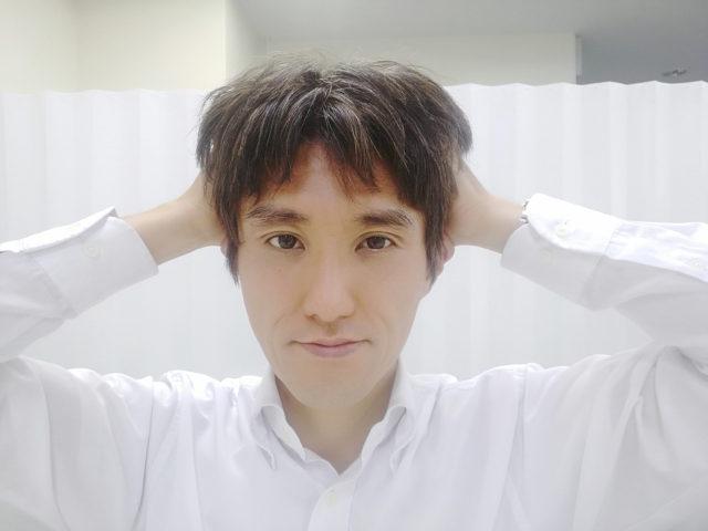 くせ毛を治す頭皮マッサージ
